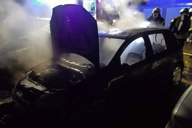 Technische Defekte sorgen für Fahrzeugbrände