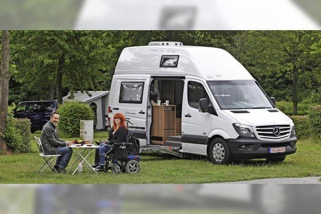 Reha-Camper kommen in Bewegung