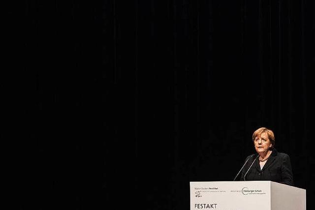 BZ-Umfrage: Freiburger CDU steht weitgehend hinter Merkel