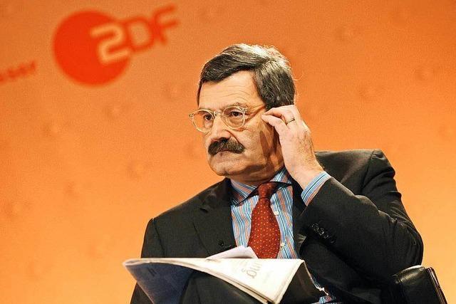 Ex-ZDF-Chef: SWR muss Elefantenrunde absagen