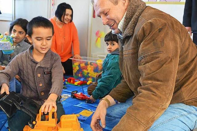 So managt der Feldberg-Ranger das Flüchtlings-Camp