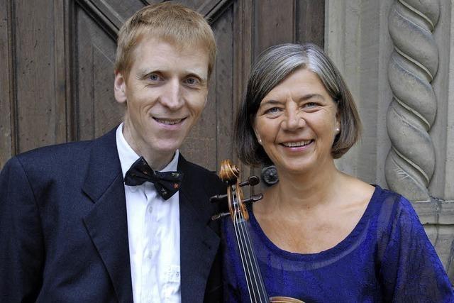 Annette Schmidt und Enno Kastens in Waldkirch