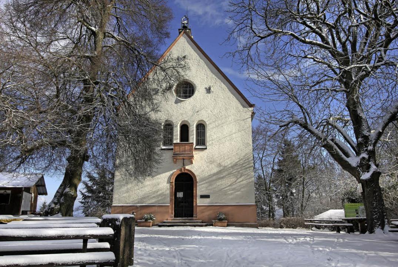 schneebedeckter Katharinenberg  | Foto: Hans-Peter Ziesmer