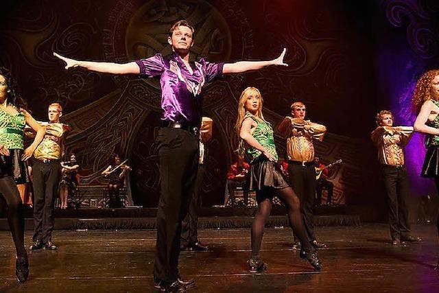 Irische Tanzshow im Palais de la Musique