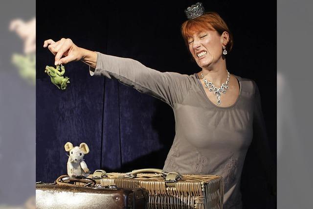 Susanne End gastiert im Figurentheater Allerhand in Murg