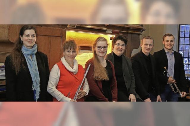Musikalischer Übergang in Fastenzeit