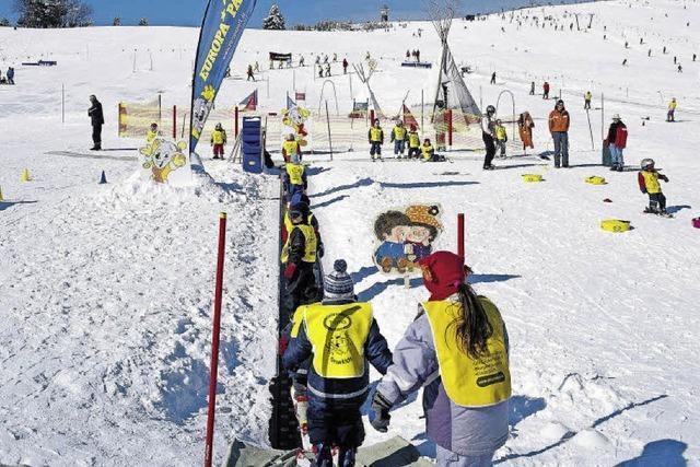 Schneespass mit der Wintersportschule Thoma auf dem Feldberg
