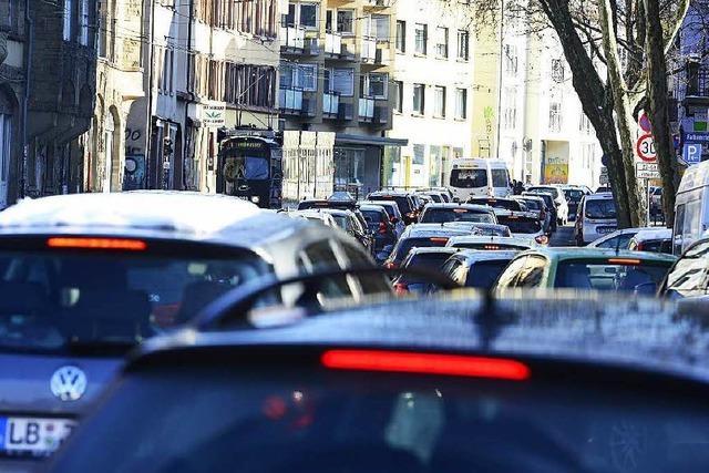 Umweltzone auf B31 in Freiburg würde nicht viel bringen