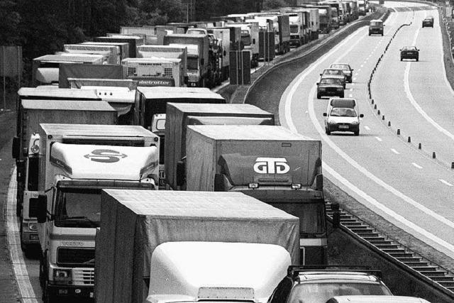 Bei geschlossenen Grenzen droht das Ende des Freihandels