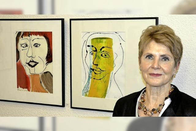 Helga Bauer zeigt ihre Werke im Kurhaus Freiamt