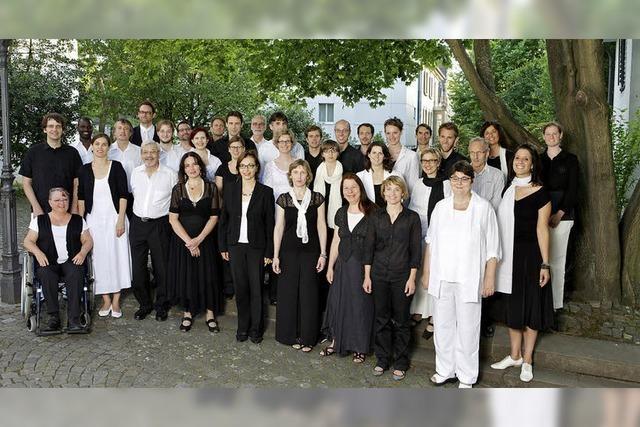 Mit zeitgenössischen Chorwerke von Pärt, Tavener und Duruflé