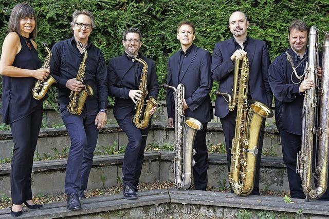 Raschèr Saxophone Quartet mit Steffen Schorn & Roger Hanschel im E-Werk