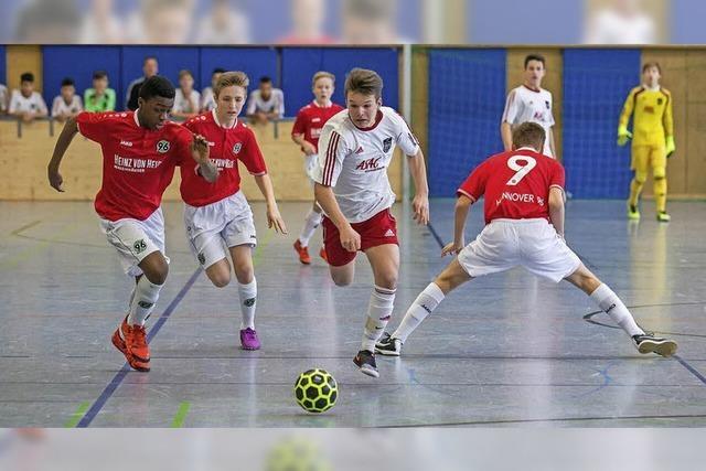 Junge Champions in der Halle