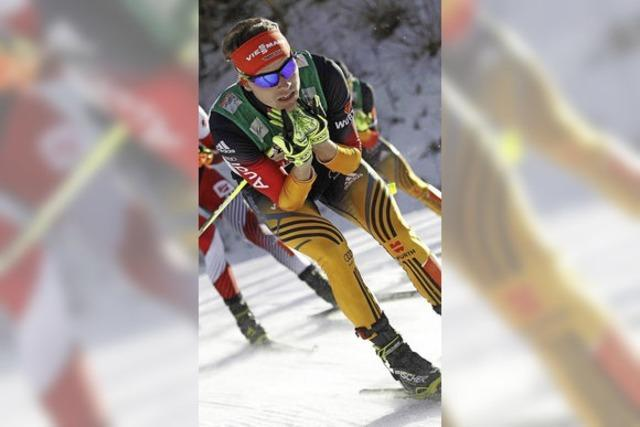 Fabian Rießle wieder in Gelb