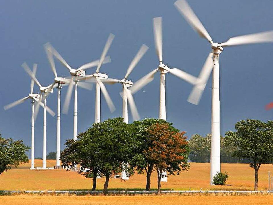 Der Ausbau der Windenergie soll gebremst werden...    Foto: dpa