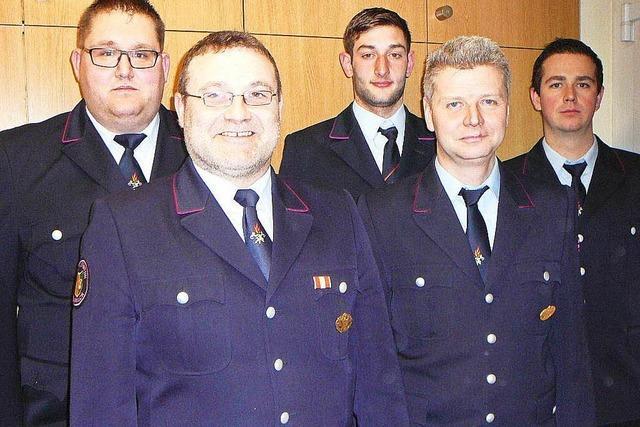 Mappachs neuer Feuerwehrkommandant heißt Stephan Brunner