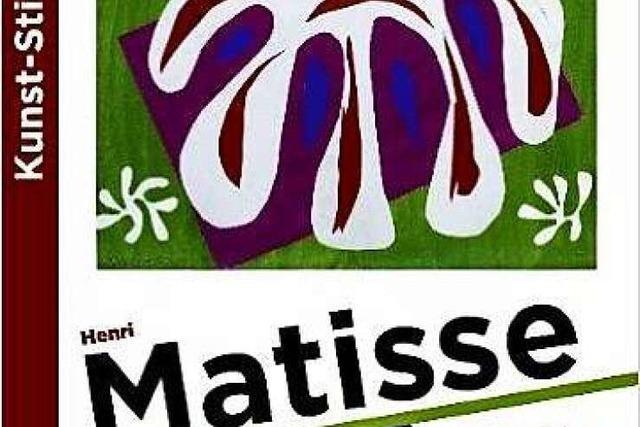 Buchtipp: Kunst-Stickerbuch Henri Matisse