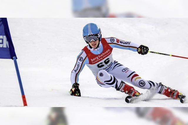 Südbadener Paul Sauter bei FIS-Rennen am Oberjoch in den Top Ten