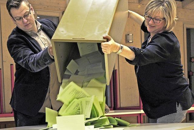 Nach der Wahl werten die Kandidaten das Ergebnis aus