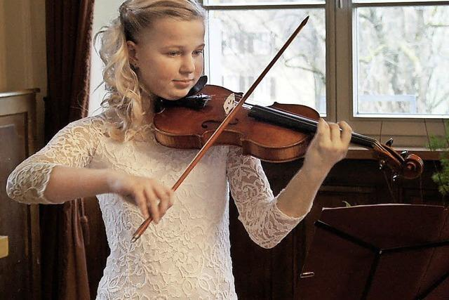 Nachwuchsmusiker zeigen ihr Können