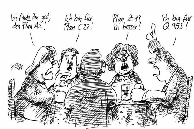 Man diskutiert noch in der CDU...