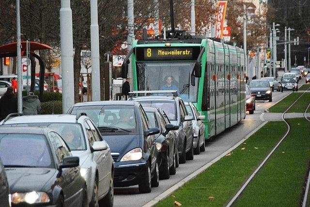 Basel will die Tram 8 wieder pünktlicher machen