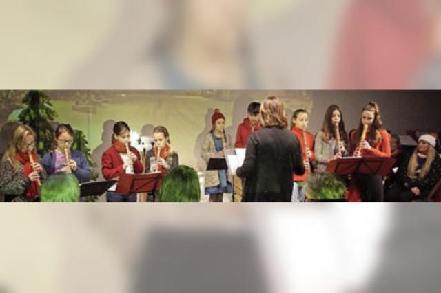 Blockflötenensemble sorgt für besinnlichen Nachmittag