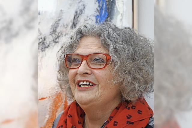 Hilda Lützelschwab stellt im Seniorenheim St. Franziskus in Bad Säckingen aus