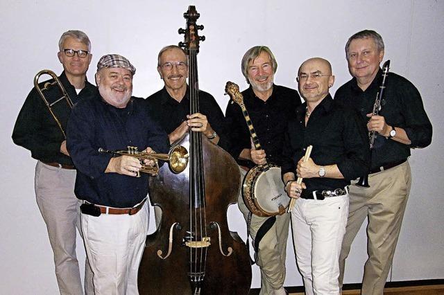 Die Original Hallelujah Stompers spielen in der Wodanhalle