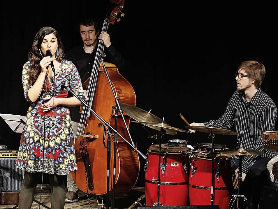 Das Filippa Gojo Quartett im Keller der Stiftsschaffnei  | Foto: Heidi Fössel