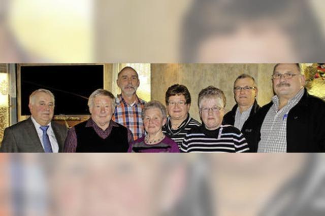 VdK-Ortsverband Ringsheim mit neun Gesichtern an der Spitze