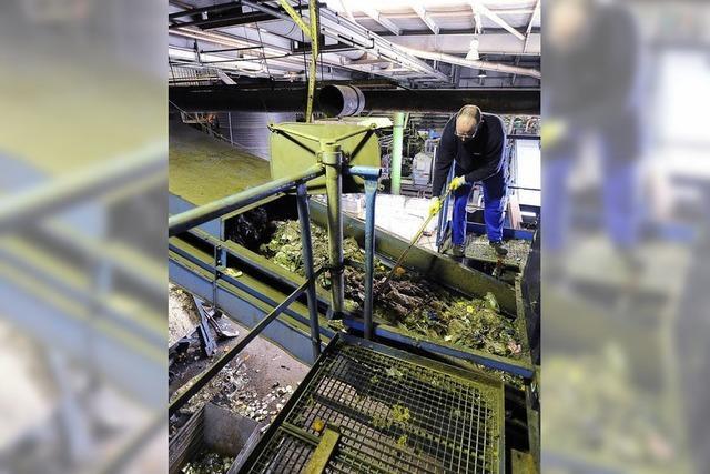 Bioabfälle gehen nach Freiburg