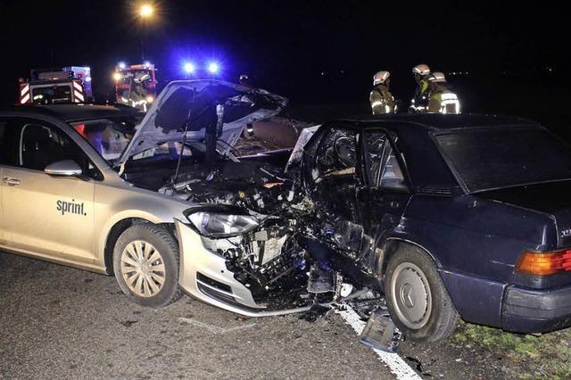 22-Jähriger übersieht Auto