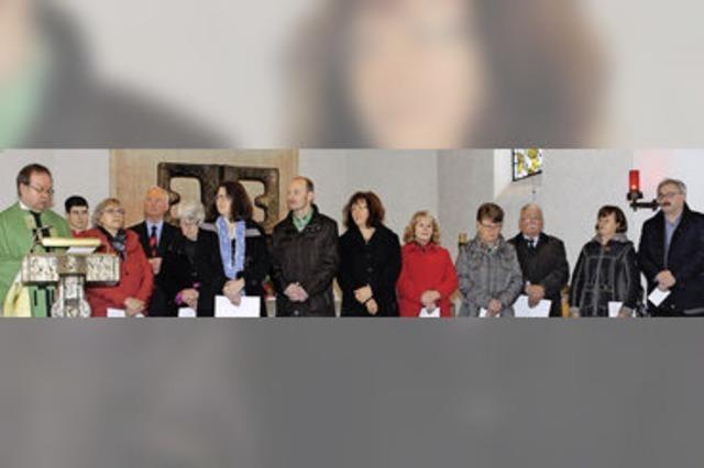 Die Pfarrei St. Fridolin in Häusern hat jetzt ein Gemeindeteam