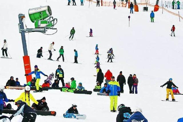 Feldberg: Verunglückte Skifahrer prallten gegen Schneekanone