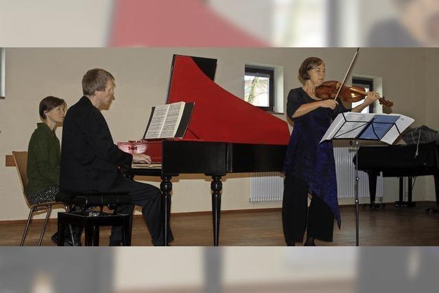 Begegnung mit Bach in Klarheit und Lebendigkeit
