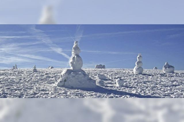 Schnee(männer-)Schmelze