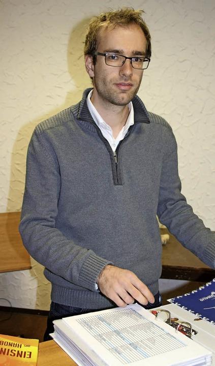 Benedikt Lorse ist der neue Dirigent der Arion Singers.   | Foto: Karin Heiss