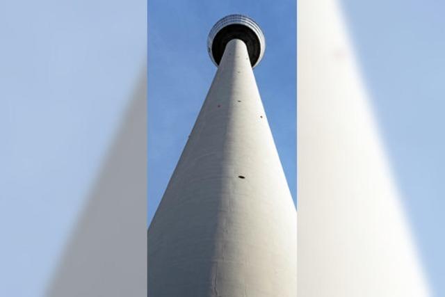 Das Licht in 217 Metern Höhe geht wieder an