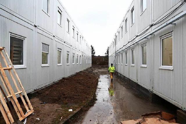 Etwa 80 Flüchtlinge prügeln sich in der Lahrer Unterkunft