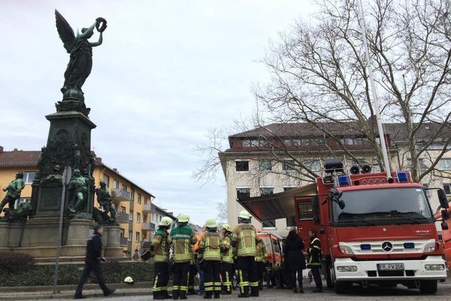 Gasaustritt in Freiburg - Badenova dichtet Leck ab