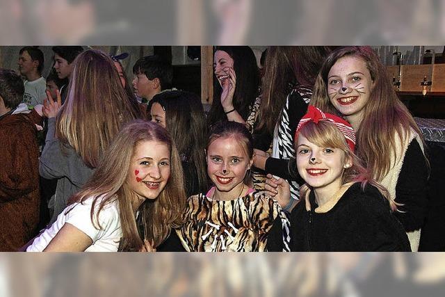 Teenie-Party mit dem Sportverein Neustadt-Hölzlebruck in Titisee-Neustadt
