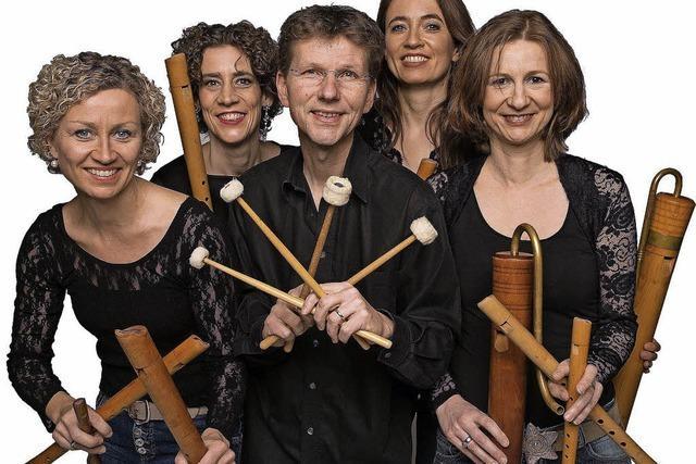 Flautando Köln spielen Werke aus Barock und Neuzeit in der Oberrheinhalle