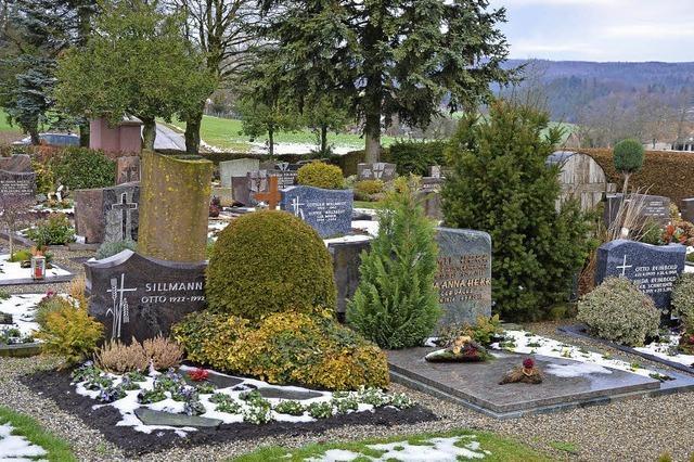 Weichenstellung für Bestattungswald