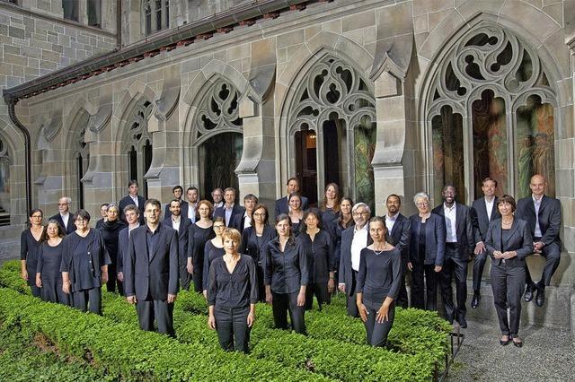 Zürcher Vokalisten mit moderner Gregorianik in der Christuskirche