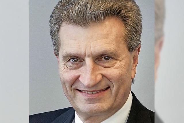 Oettinger zu Gast bei der CDU