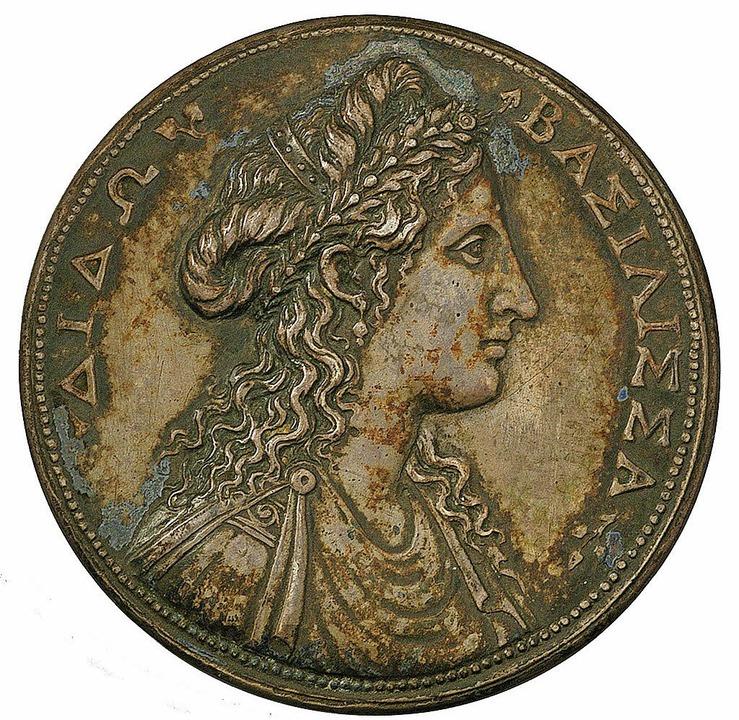 Medaille: Dido und Stadtansicht von Karthago  | Foto: HMB, A. Seiler