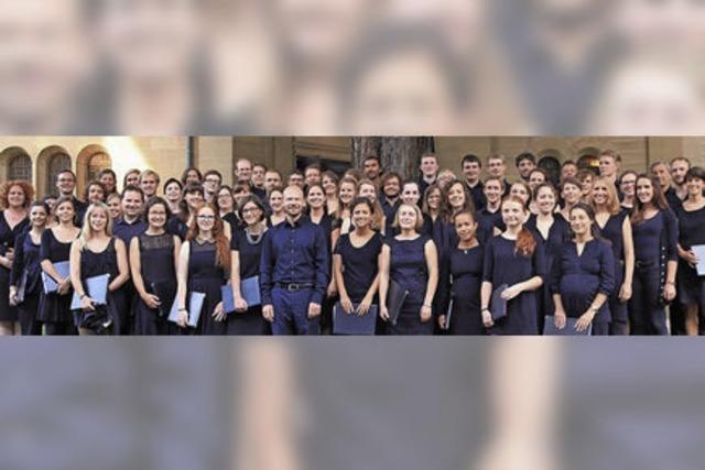 Die Evangelische Studentenkantorei Freiburg mit Bachs Johannes-Passion