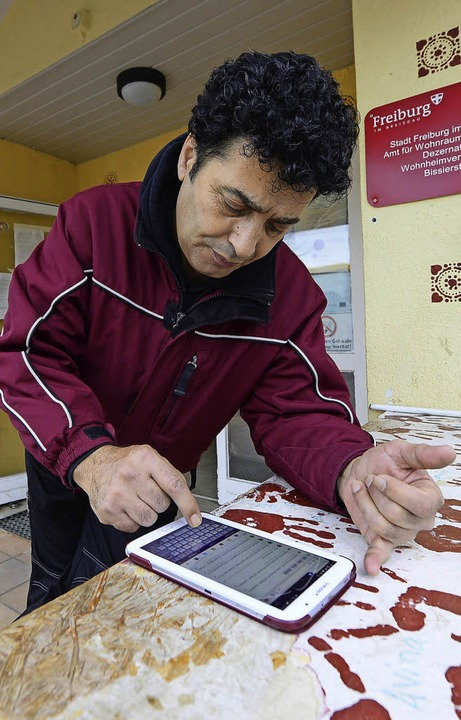 WLAN soll bald in allen Flüchtlingsheimen funktionieren.  | Foto: i. schneider