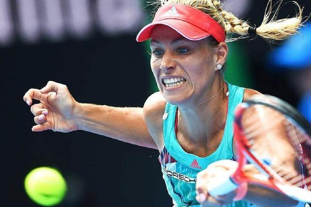 Angelique Kerber steht im Finale der Australian Open